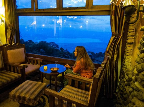 Ngorongoro Serena Safari Lodge: The lounge view.