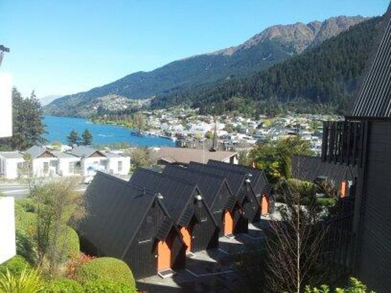 Scenic Suites Queenstown: View from room on second floor