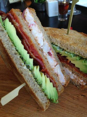 Lobster Club Sandwich - Picture of Kaspar's, London - TripAdvisor