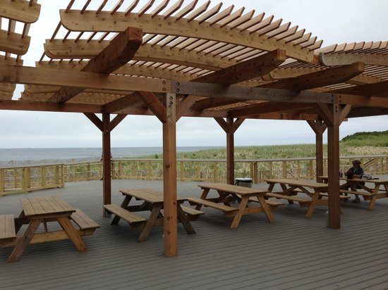 Herring Cove Beach: eating picnic area