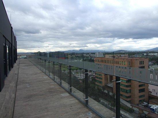 TRYP Bogota Embajada : Vista desde el 11vo. nivel viendo hacia el sur