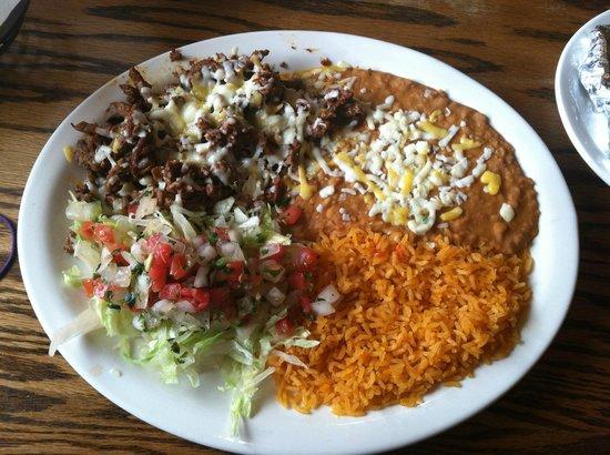 Margarita King Mexican Grill & Cantina: El Sinaloense - description in review!!