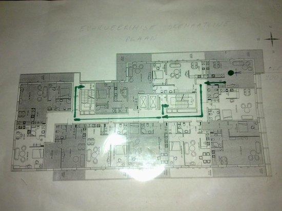 Adelle Apartments: план этажа и апартаментов