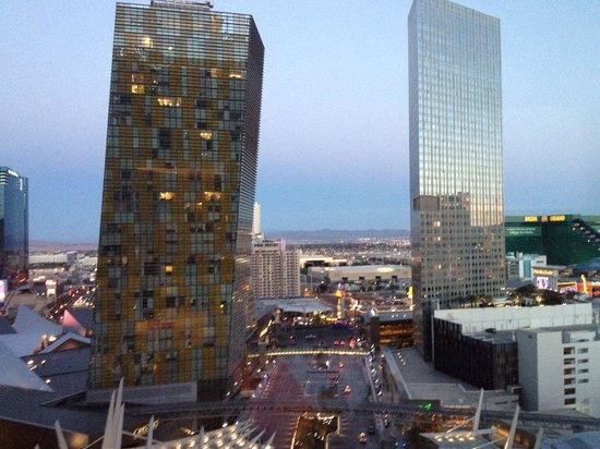 Casino at Aria Resort: Our View from room
