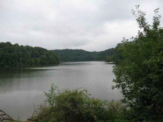 Salt Fork Lodge and Conference Center: Lake area