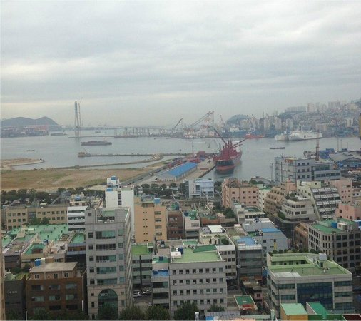 Hotel Commodore Busan : View from rooms