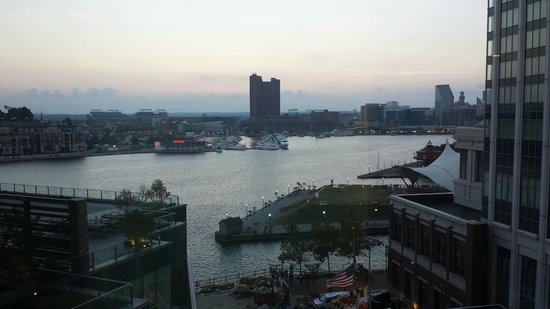 Four Seasons Baltimore: the view from my room