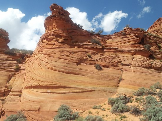 The Wave at Coyote Buttes: Beginning of the hike