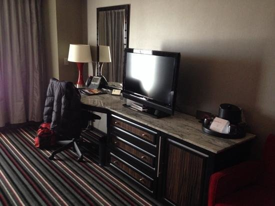 Hard Rock Hotel and Casino Tulsa: room to work