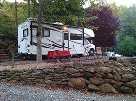 Mama Gertie's Hideaway Campground: RV Site #6