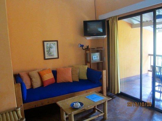 Villas del Caribe: Great couch