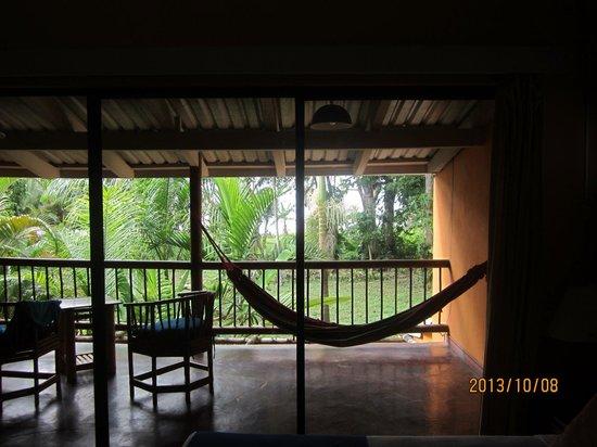 Villas del Caribe: Fabulous deck, superlative hammock