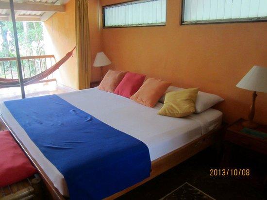 Villas del Caribe: Best bed ever. Dormi como una roca!