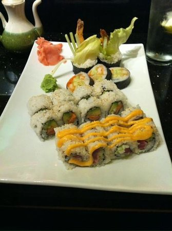 Fuji Japanaese Steak House: Assorted sushi (3 orders)