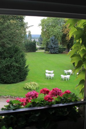 Chateau de Bellecroix : View from our room