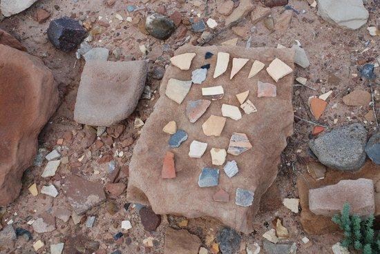 Homolovi Ruins State Park: Broken Pottery