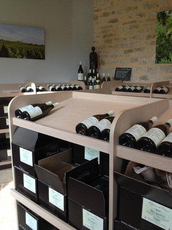 Domaine Chateau de Citeaux: Vines 2