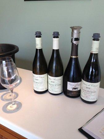 Domaine Chateau de Citeaux: Vines