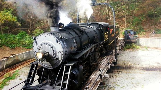 Western Maryland Scenic Railroad: Turntable in Frostburg