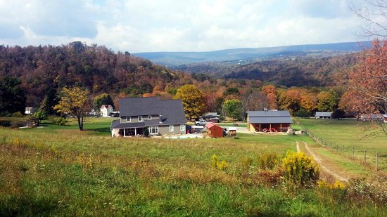 Western Maryland Scenic Railroad: On of many Scenic views