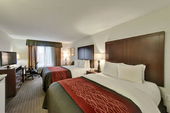 Comfort Inn & Suites Portland International Airport: Double Queen