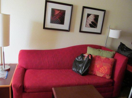 Residence Inn Dover: Couch