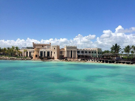 Sanctuary Cap Cana by AlSol: castle from catamaran