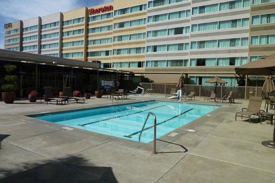 Sheraton Pleasanton Hotel: pool and hotel view