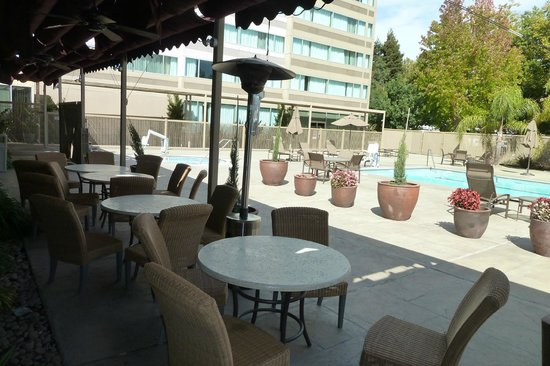 Sheraton Pleasanton Hotel : pool area