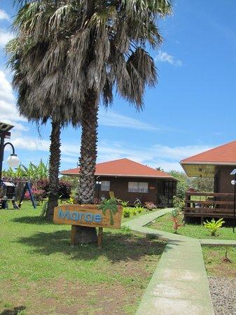 Marae Premium Cabins grounds