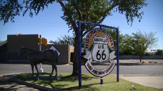 Route 66 Historic District: Historic Route 66