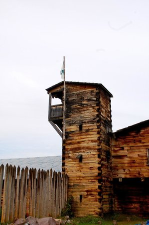 The Fort at #4: Guard tower