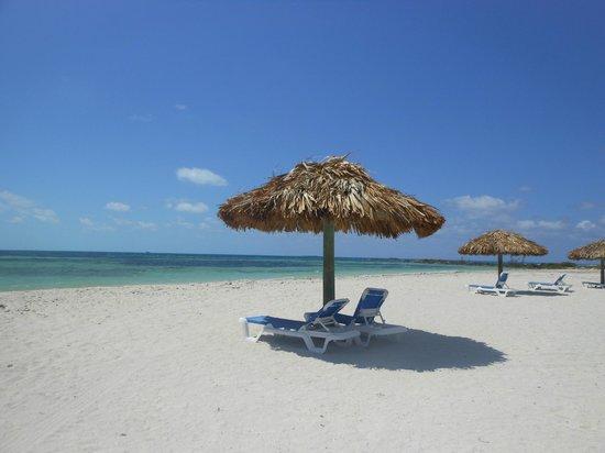 Mackeys Sand Bar : Beach outside of Mackeys