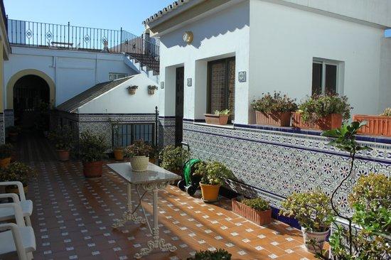 Hostal Malaga: Área comum
