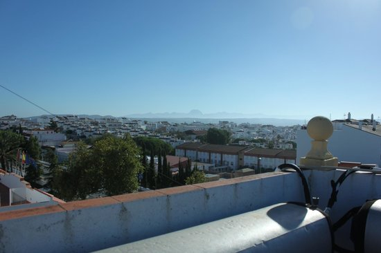 Hostal Malaga: Vista do terraço