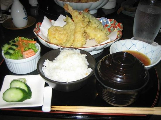 Dusit Thani Manila: Tempura lunch