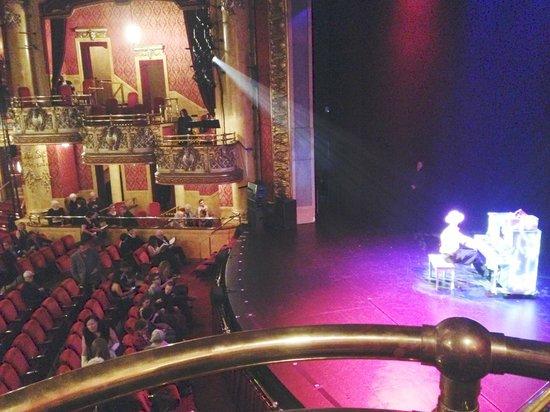 View From Box H Seat 1 Picture Of The Elgin Winter Garden Theatre Centre Toronto Tripadvisor