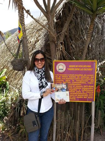 Intinan Museum: certificado en mano