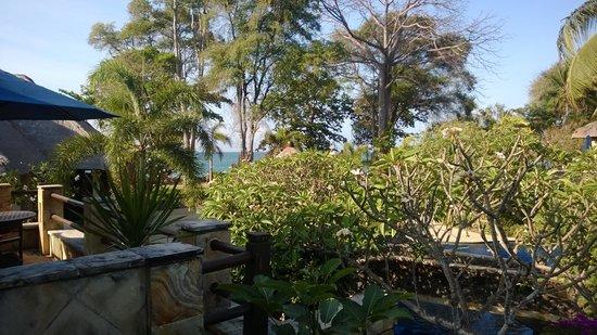 Pool Villa Club Senggigi Beach Lombok: view from balcony