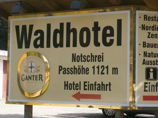 Waldhotel am Notschrei: Ein Erlebnis wert