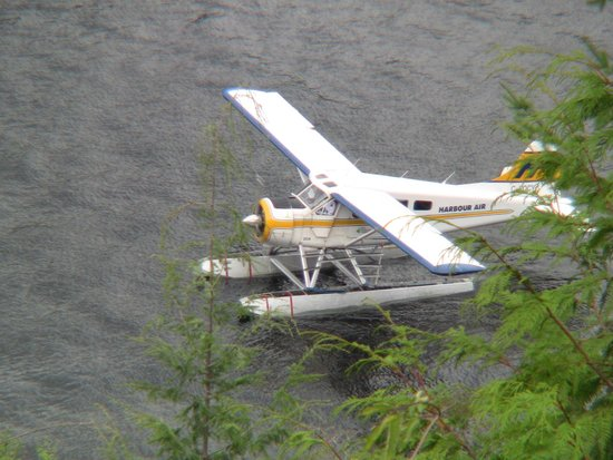 West Coast Wilderness Lodge: Float Plane