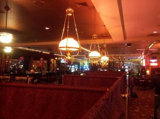Longstreet Hotel & Casino : hall & casinò