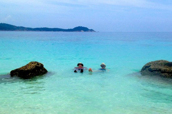 Coral View Island Resort: floating