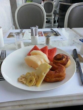 Dorsett Shanghai: breakfast