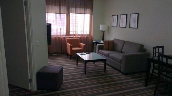 Somerset on Elizabeth, Melbourne: Living Area - Room 810