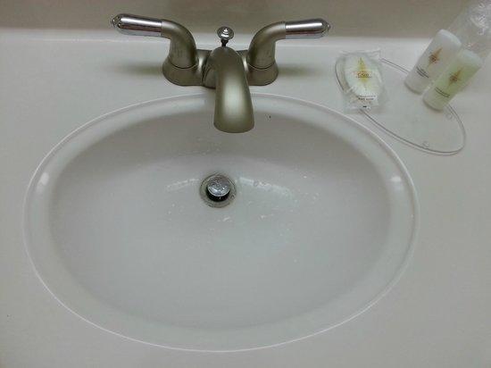 Comfort Inn Indianapolis-Carmel: Bathroom sink