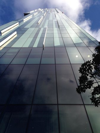 Hilton Manchester Deansgate: The way up