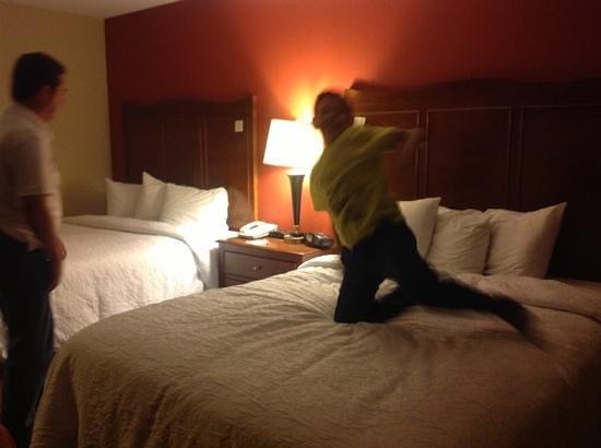 Hampton Inn & Suites El Paso-Airport : comodisimo hotel!!