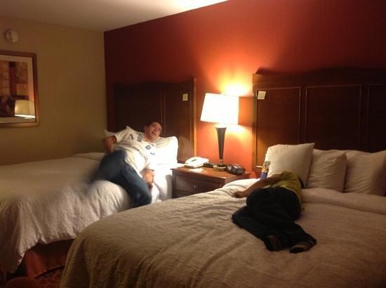 Hampton Inn & Suites El Paso-Airport : muertos de cansancio!!  lol