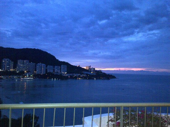Flamingo Hotel by the Beach, Penang: captured from Presidential Suite